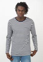 makia-longsleeves-verkstad-pocket-navy-white-vorderansicht-0383070