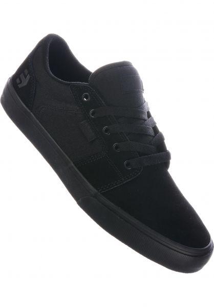 etnies Alle Schuhe Barge LS black-black-black vorderansicht 0602679