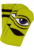 Toy-Machine-Socken-Sect-Eye-III-green-Vorderansicht