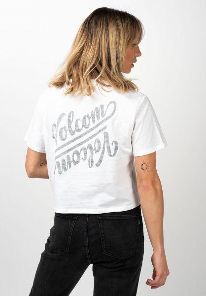 Volcom T-Shirts Pocket Dial white vorderansicht 0321473
