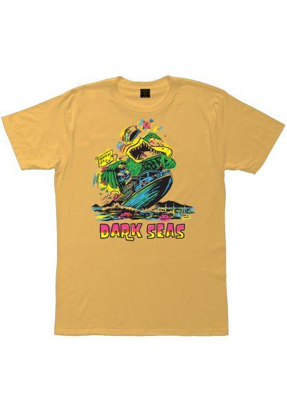 Dark Seas T-Shirts Wild Bird Pigment citrus vorderansicht 0399575