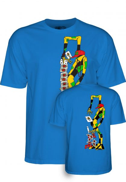 Powell-Peralta T-Shirts Ray Barbee Rag Doll royalblue vorderansicht 0320227