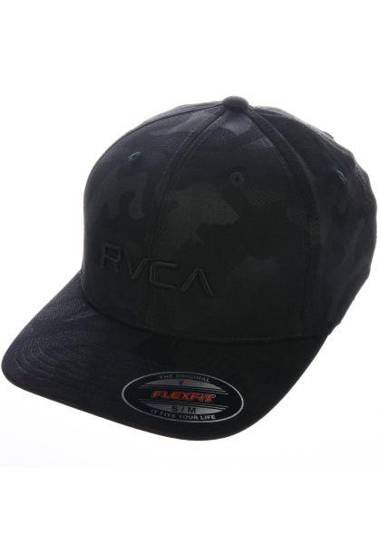 RVCA Caps RVCA Flexfit black-camo vorderansicht 0566188