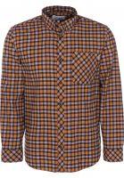 Carhartt WIP Hemden langarm Lanark Flannel lanarkcheck-hamiltonbrown vorderansicht 0411886