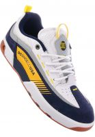 DC Shoes Alle Schuhe Legacy 98 Slim white-yellow-blue Vorderansicht