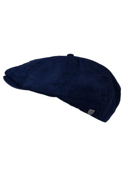 Brixton Hüte Brood Cord patriotblue vorderansicht 0580371