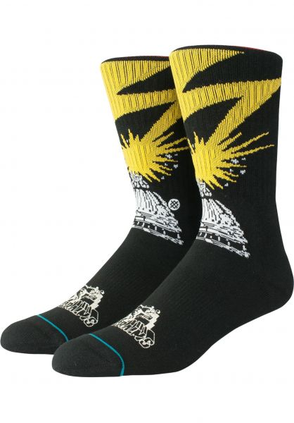 Stance Socken Bad Brains black Vorderansicht