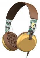 Skullcandy Kopfhörer Grind On Ear W/Tap Tech scout camo-brown-gold Vorderansicht