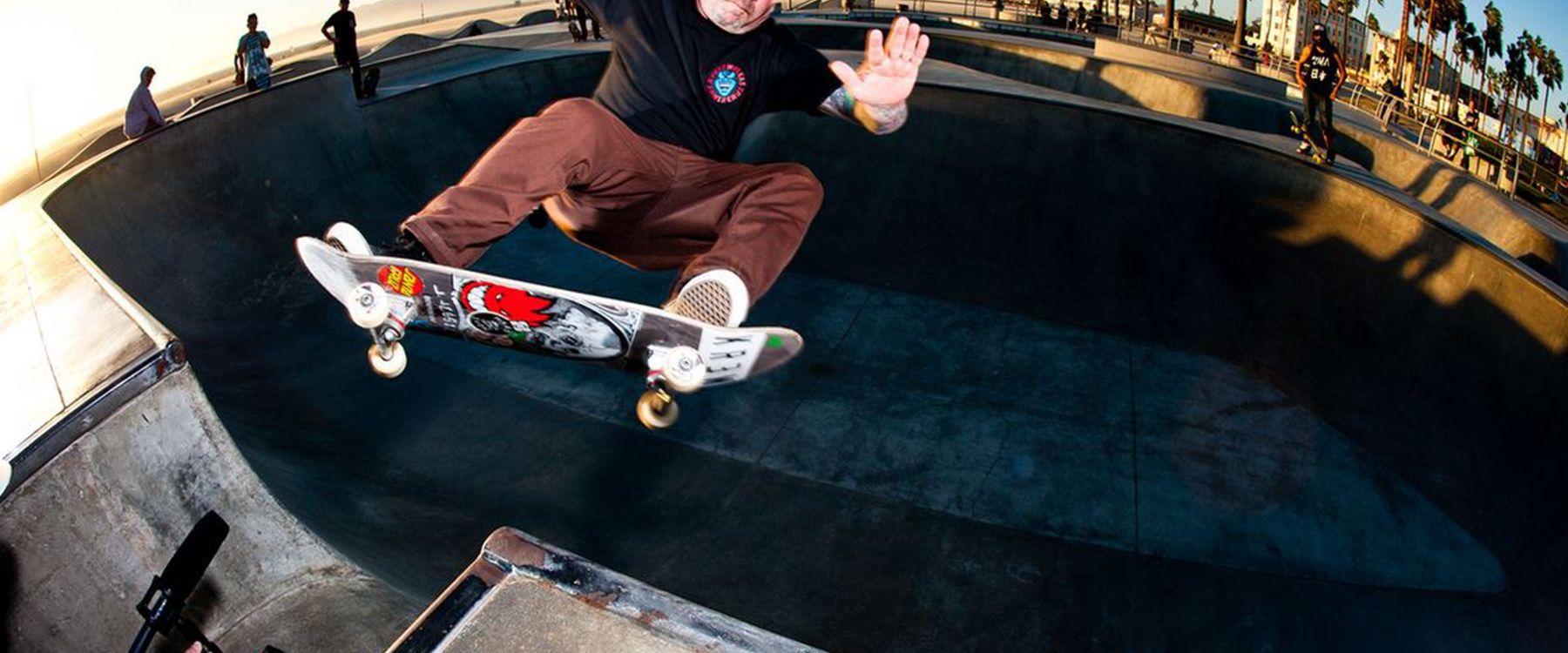 Santa Cruz Skateboards Old School Phillips Hand T-Shirt
