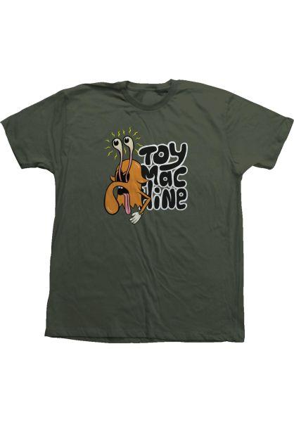 Toy-Machine T-Shirts Noah Merit Eyes moss vorderansicht 0323277