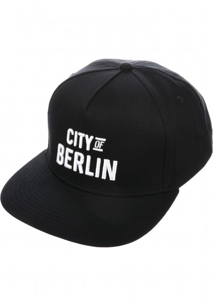 TITUS Caps City of BERLIN Snapback black Vorderansicht