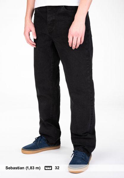 Emerica Jeans Defy Denim FW18 black vorderansicht 0269050