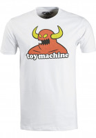 Toy-Machine T-Shirts Monster white Vorderansicht