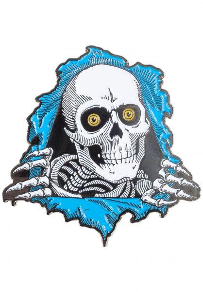 Powell-Peralta Verschiedenes Ripper Lapel Pin blue vorderansicht 0971384