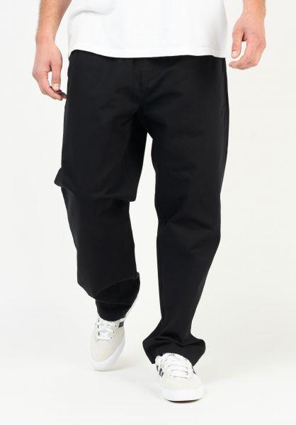 OBEY Chinos und Stoffhosen Easy Twill Pant black vorderansicht 0204282