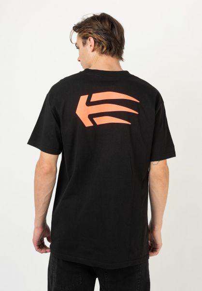 etnies T-Shirts Joslin black vorderansicht 0321219
