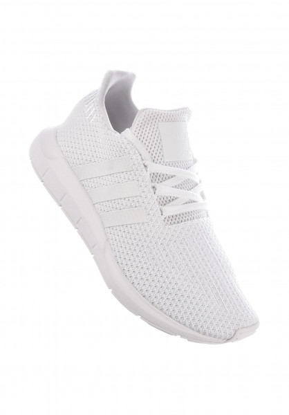 adidas Alle Schuhe Swift Run white-white-white Vorderansicht