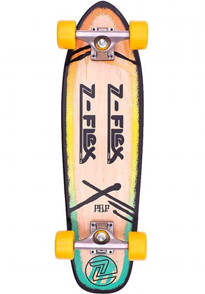 """Z-Flex Cruiser komplett P.O.P 27"""" rasta vorderansicht 0252687"""