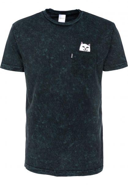 Rip N Dip T-Shirts Lord Nermal Pocket aquamineralwash Vorderansicht