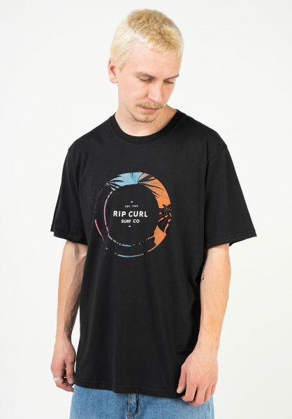 Rip Curl T-Shirts Filter black vorderansicht 0323563