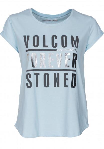 Radical Dayz Volcom T-Shirts in blue-birds für Damen   Titus b1303af23b