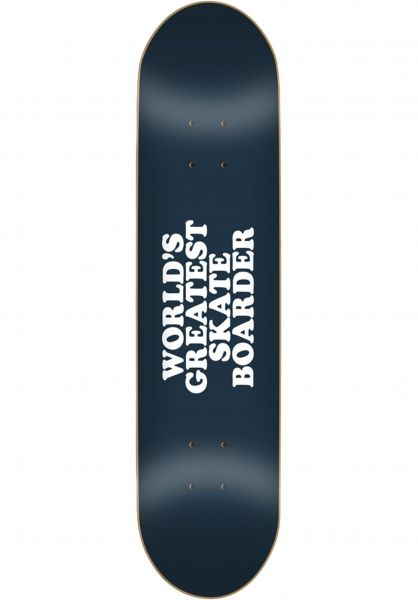 Skate-Mental Skateboard Decks Wolds Greatest Skateboarder black Vorderansicht