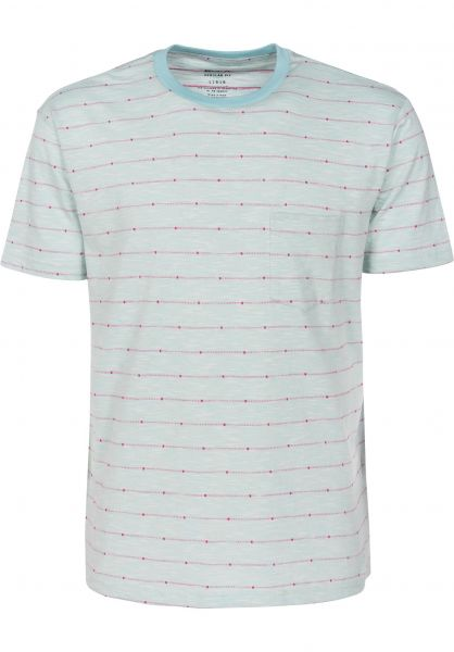 RVCA T-Shirts Double Dip cosmos Vorderansicht