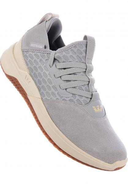 Supra Alle Schuhe Titanium lightgrey-bone Vorderansicht