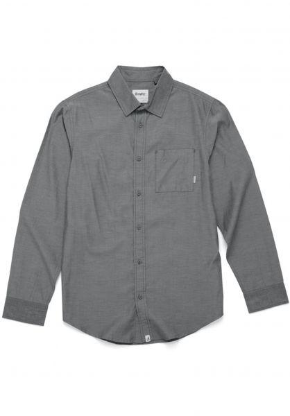 Altamont Hemden langarm Alass 2 black Vorderansicht