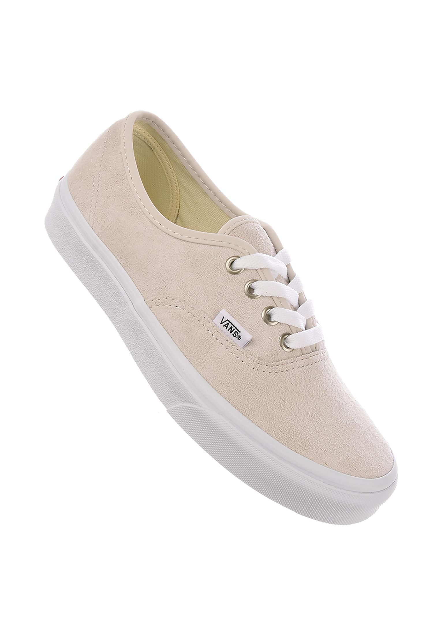 5637031a5430a0 Authentic Classic Vans All Shoes in moonbeam-truewhite for Women