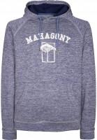 Mahagony Hoodies Brand Hood Sweater blue Vorderansicht