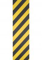 Kingpin Griptape Color yellow-black-stripes Vorderansicht