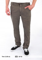 TITUS-Chinos-und-Stoffhosen-Chino-Lace-brown-washed-Vorderansicht