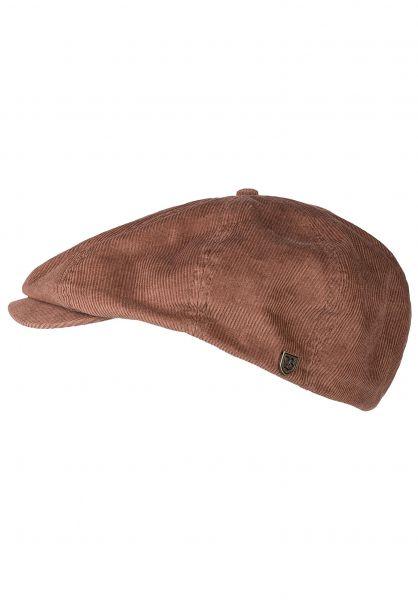 Brixton Hüte Brood Cord bison vorderansicht 0580371