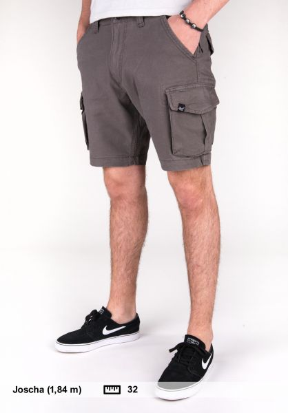 Reell Shorts City Cargo Short charcoalgrey Vorderansicht