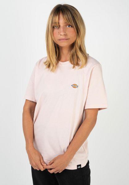 Dickies T-Shirts Stockdale lightpink vorderansicht 0397541