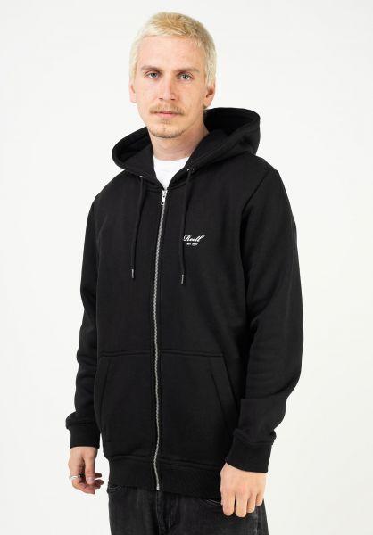 Reell Zip-Hoodies Regular Zip Hoodie deepblack vorderansicht 0454878