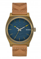Nixon Hüte The Time Teller brass-navy-hickory Vorderansicht