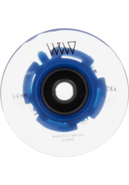 WELD Rollen Blaze LED 78A blue Vorderansicht