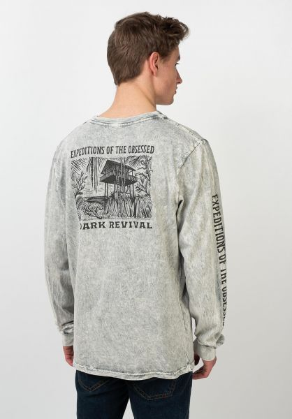 Roark Longsleeves Expedition Of The Obsessed grey vorderansicht 0383734