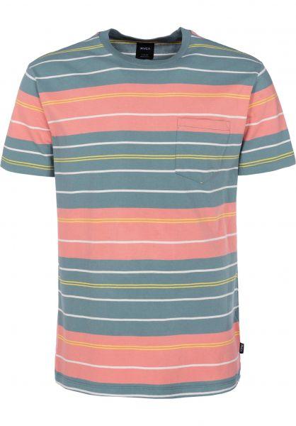 RVCA T-Shirts Rusholme pinetree vorderansicht 0398558