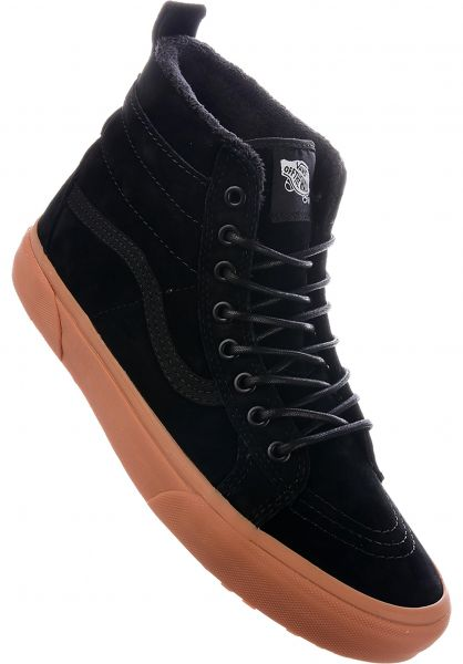 Vans Alle Schuhe Sk8 Hi MTE black-gum Vorderansicht