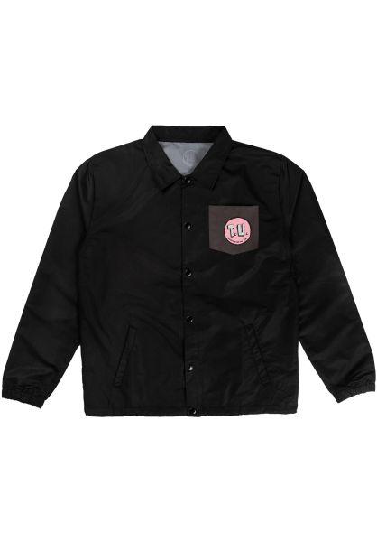 Transportation Unit Übergangsjacken Patch Perfect black vorderansicht 0504446