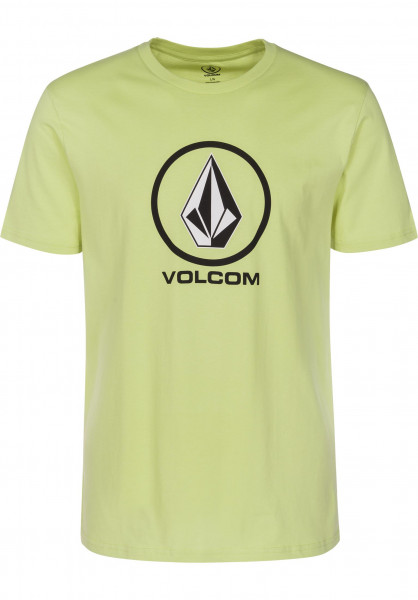 Volcom T-Shirts Crisp shadowlime Vorderansicht