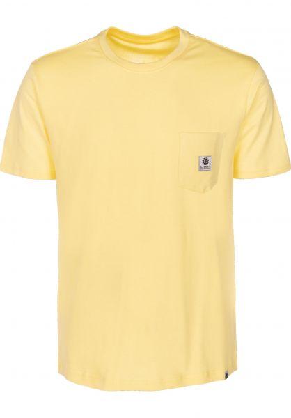 Element T-Shirts Basic Pocket Label popcorn vorderansicht 0398847