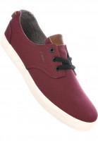 C1RCA Alle Schuhe Harvey maroon-gray Vorderansicht
