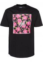 DGK-T-Shirts-Floral-black-Vorderansicht