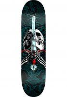 Powell-Peralta Skateboard Decks Skull & Sword Birch one off-red-turquoise-fade Vorderansicht