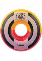 Orbs Rollen Apparitions Splits 99A red-yellow Vorderansicht 0134390