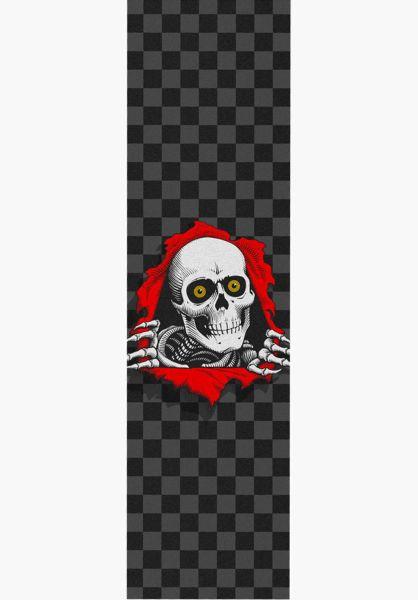 Powell-Peralta Griptape Ripper checkered-black vorderansicht 0142158